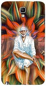 PRINTVISA Religious Sai Baba Case Cover for Samsung Galaxy Note 3 Neo
