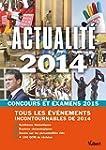 Actualit� 2014 - Concours et examens...
