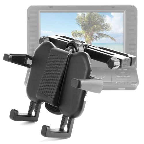 "Dvd Headrest And Tray Mount For Panasonic Dvd-Ls70, Dvd-Ls84, Dvd-Ls83, Dvd-Ls50, Dvd-Ls92, Dvdls70Ebk 7"" Portable Dvd Player front-957115"