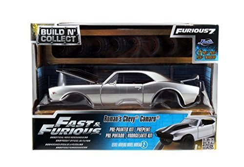 Fast Furious 7 Roman's Chevy Camaro Off Road 1:24 Scale Build N' Collect Modelkits (Black) (Building Models For Adults compare prices)