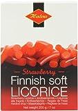 Halva Strawberry Finnish Liquorice (Pack of 4)
