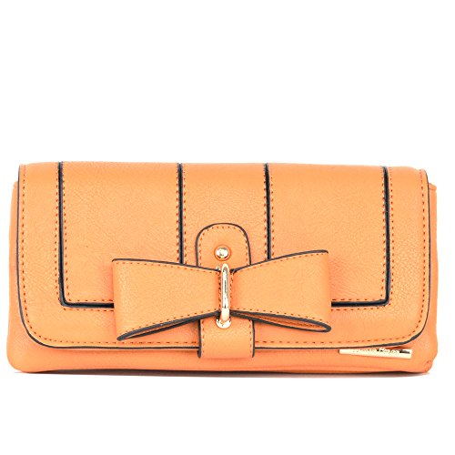 Mustard Diana Korr Mustard PU Ray Wallet For Women (Yellow)
