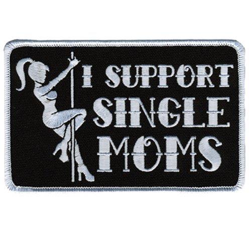 [해외]핫 가죽 옷 I 지원 단일 엄마 핫 가죽 옷으로 (5 가로 x 3 높이)/Hot Leathers I Support Single Moms (5  Width x 3  Height) by Hot Leathers
