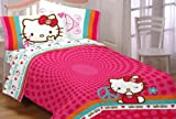 51bVs4Wh9JL. SL160  Sanrio Pink Hello Kitty Twin Comforter