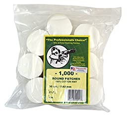 Professional\'s Choice Gun Cleaning Patches (1000 Pack) Cotton Knit  - 2.25\
