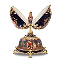 The Russian Nutcracker Collectible Musical Egg by Ardleigh Elliott from Ardleigh Elliott