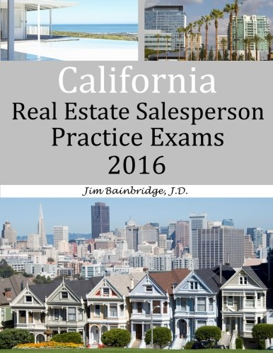 Download California Real Estate Salesperson Practice Exams for 2016