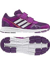 adidas Hyperfast (Little Kid/Big Kid) Tribe Purple/Running White/Vivid Pink 5 Big Kid M