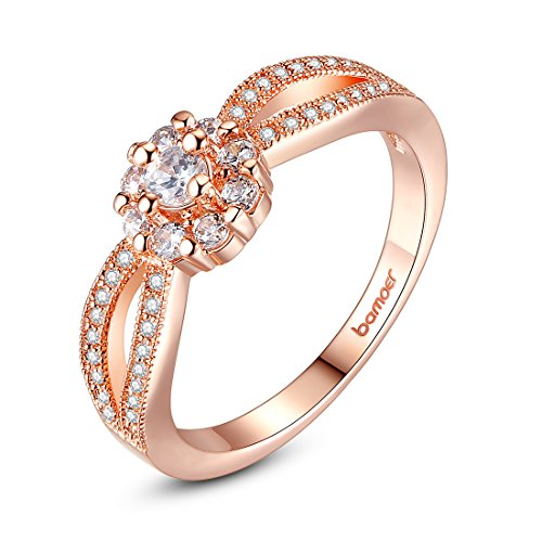 Bamoer Christmas Finger Rings 2014 Big Deals!! Popular Women Jewelry Ring Round Rings Gift For Girls Ladies (9)