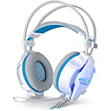 KOTION EACH G7000 USB 7.1 Virtual Surround Sound Vibration Game Headset Headband Earphone With Mic LED Light For...