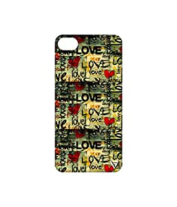 Vogueshell Love Pattern Printed Symmetry PRO Series Hard Back Case for Apple iPhone 6