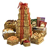 Broadway Basketeers Ultimate Mothers Day Gourmet Gift Tower