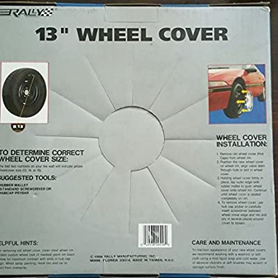 "Rally 13"" Wheel Cover"