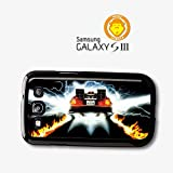 Back To The Future Movie Delorian Plate Out At Time case for Samsung Galaxy S3 A8515