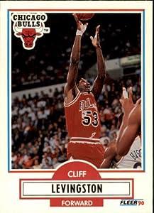 1990-91 Fleer Update #U15 Cliff Levingston at Amazon's Sports