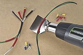 Genesis GHG1500A Dual Temperature Heat Gun Kit, Grey