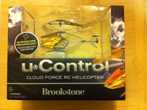 Brookstone Remote Control Helicopter - uControl Cloud Force