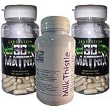 SD Matrix Stack x 2 (60 capsules) and FREE Milk Thistle