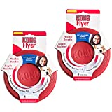 KONG RUBBER FLYER RED(2Pack)