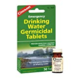 Coghlans 7620 Drinking Water Tablets - 50 Tablets