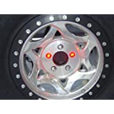 Delta Lights (01-6581-50) LUG-NUT-LITE Universal Waterproof LED 3rd Brakes Light for Spare Tire