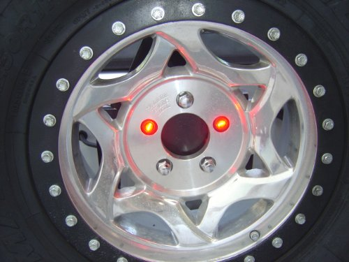 Delta 01-6581-50 LED Lug Nut Light Kit for Spare Tire, Jeep Compatibility