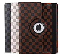 TGK Business Design 360 Degree Rotating Leather Case Cover Stand for Apple iPad Mini 2/ Mini 3- White