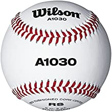 Wilson Official League - Balón de béisbol, color blanco