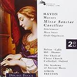 Haydn - Great Organ Mass · St. Cecilia Mass · Missa Sancti Nicolai · Missa Brevis / Nelson · Kirkby · Watkinson · Hill · Thomas · AAM · Hogwood