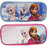 Disney Frozen Pencil Cases (2 Pencil Cases)