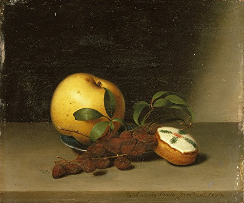 "Raphaelle Peale Still Life With Cake vintage Stampa Fine Art, laccato carta/carta, Up to 594mm by 841mm or 23.4"" by 33.1"""