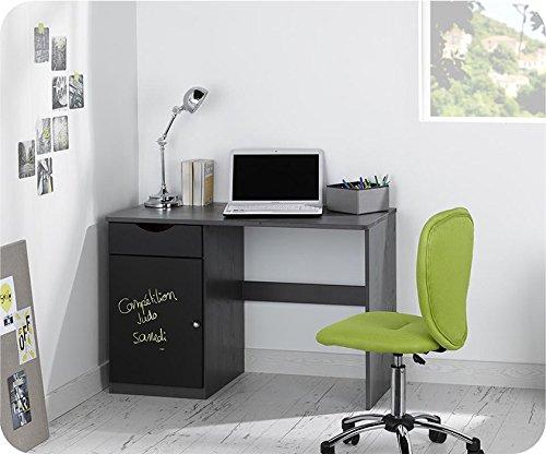 Schreibtisch Tanguy Anthrazit grau