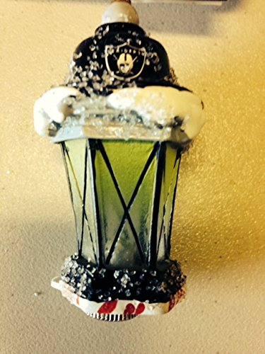 Oakland Raiders Light up Lantern Ornament