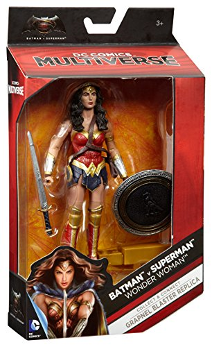 "Batman v Superman: Dawn of Justice Multiverse 6"" Wonder Woman Figure at Gotham City Store"