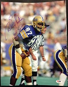 Rickey Jackson PSA DNA Certified Autographed Pittsburgh Panthers 11x14 Photo by 12-6 Sportscards & Collectibles