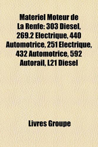 Matériel Moteur de La Renfe: 303 Diesel, 269.2 Électrique, 440 Automotrice, 251 Électrique, 432 Automotrice, 592 Autorail, L21 Diesel