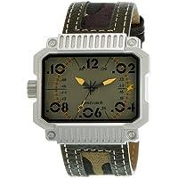Fastrack Commando Analog Green Dial Men's Watch - NE3087SL02