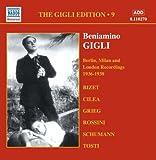 ベニアミーノ・ジーリ:ベルリン・ミラノ・ロンドン録音集(1936-1938)