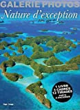 Photo du livre Nature d'exception : 1 livre, 3 cadres, 12 tirages pr�ts � encadrer