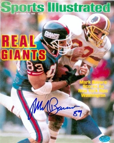 Mark Bavaro Autographed/Hand Signed 8x10 Photo (New York Giants) Image #4 at Amazon.com