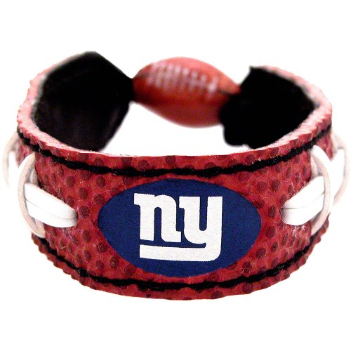 NFL New York Giants Classic Football Bracelet at Amazon.com