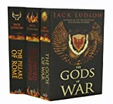 Jack Ludlow Jack Ludlow The Pillars of Rome 3 Books Collection Set RRP £20.97 (REPUBLIC: THE PILLARS OF ROME, Republic: The Sword of Revenge, Gods of War, The (Republic))