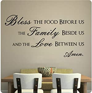 Amazon Com 43 Quot Bless This Food Before Us The Family