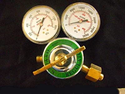 Devardi Glass Lampwork, Beadmaking (or Welding) Heavy Duty Oxygen Regulator