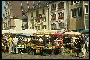 580023 Munster Platz Market Freiburg A4 Photo Poster Print 10x8