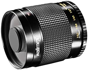 Walimex pro 50080 - Teleobiettivo catadiottrico per Canon EOS M Pour Samsung NX