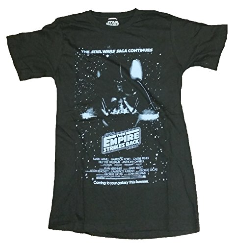 Star Wars The Empire Strikes Back Vintage Movie Poster Graphic T-Shirt 0
