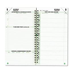 DAY-TIMER Original Dated Two-Page-Per-Day Organizer Refill, January-December, 3-1/2 X 6-1/2 Inches, 2015 (DTM870101501)