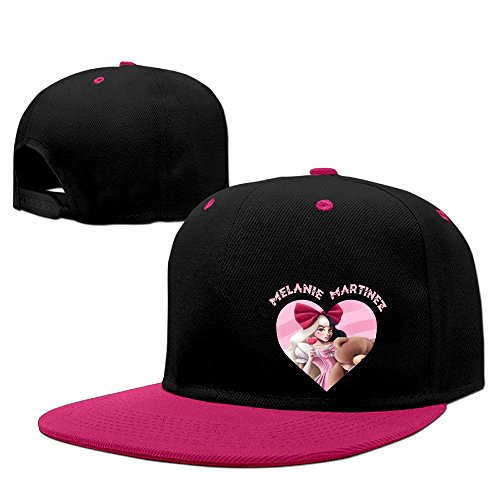 Jade American Singer Songwriter Melanie Martinez The Voice Flat Bill Snapback Adjustable Traveler Cap Pink (Singers On Songwriting compare prices)
