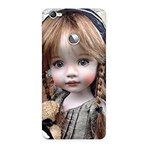 Stylish Girl Angel Multicolor Back Case Cover for LeTV Le 1s